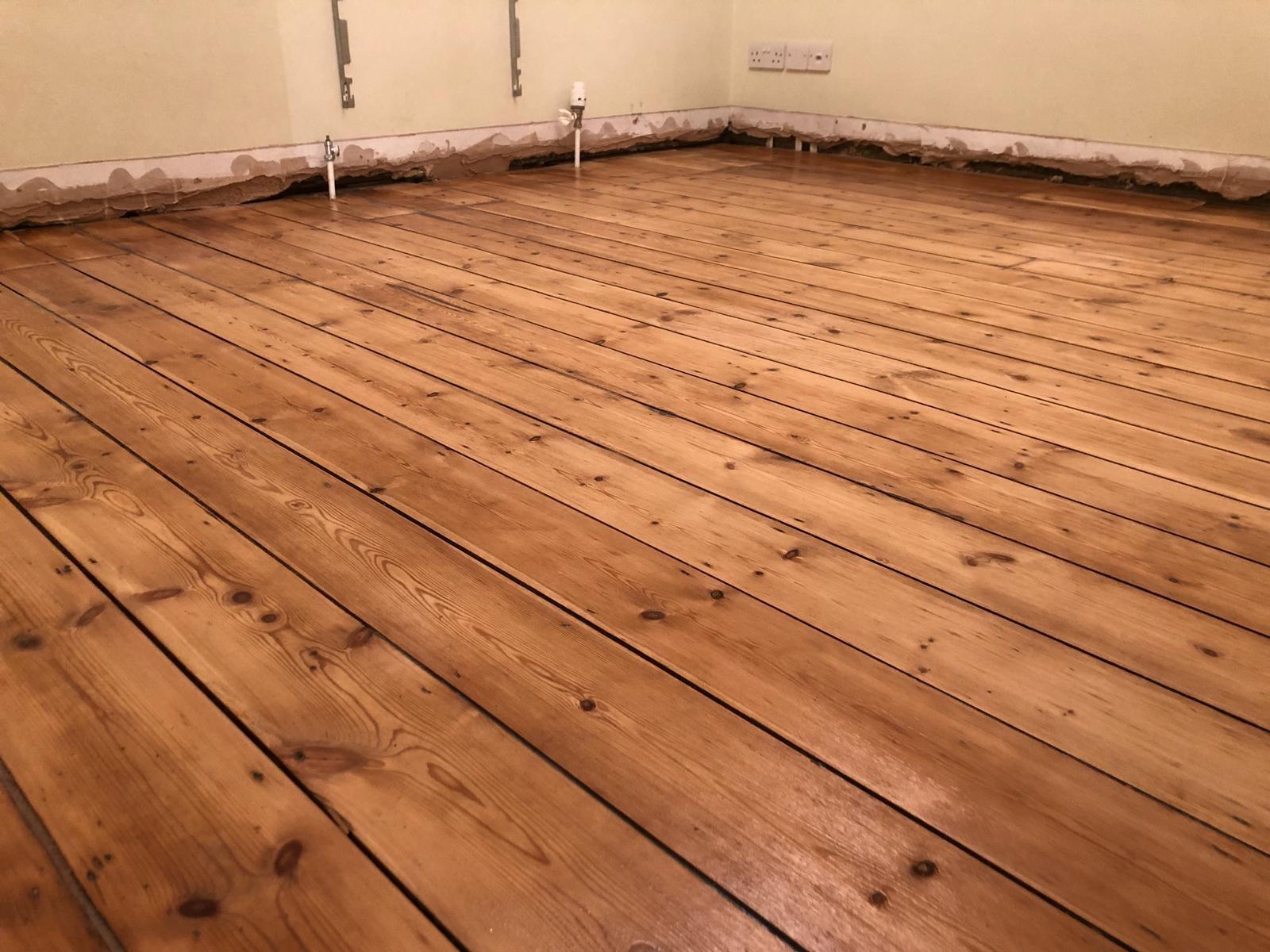 Sanded Floors